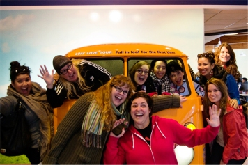 How many paddlers can fit in a loaf bus?